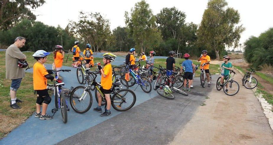 פארק אופניים בעכו