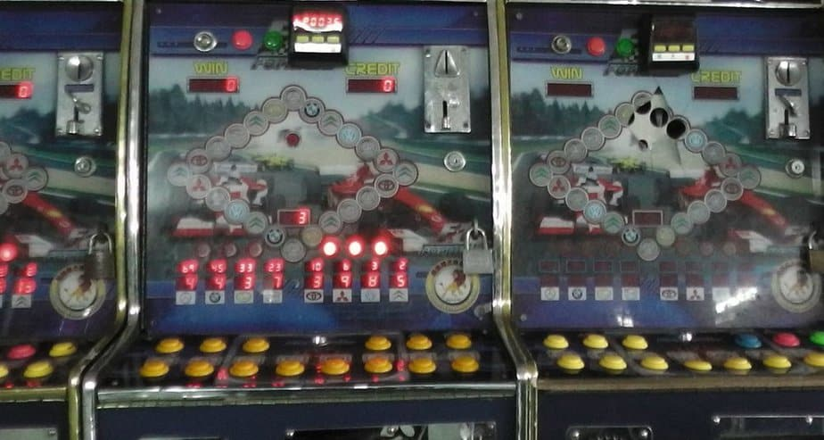 מכונת המזל (צילום: באדיבות תחנת המשטרה בנתניה)