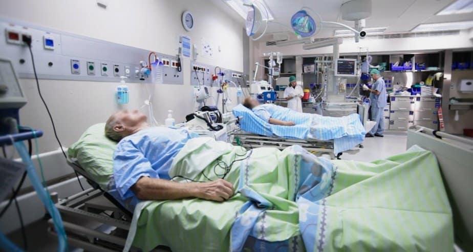 מיון בית החולים כרמל (צילום: אלי דדון)