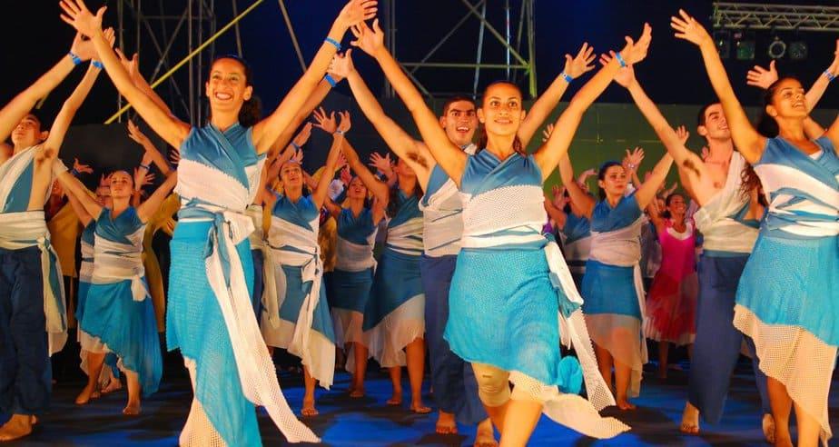 פסיפס של זמר ומחול ישראל. פסטיבל כרמיאל (צילום: מתי אלמליח)