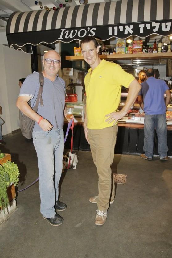 ארז קומרובסקי ותום פרנץ (צילום: שוקה כהן)