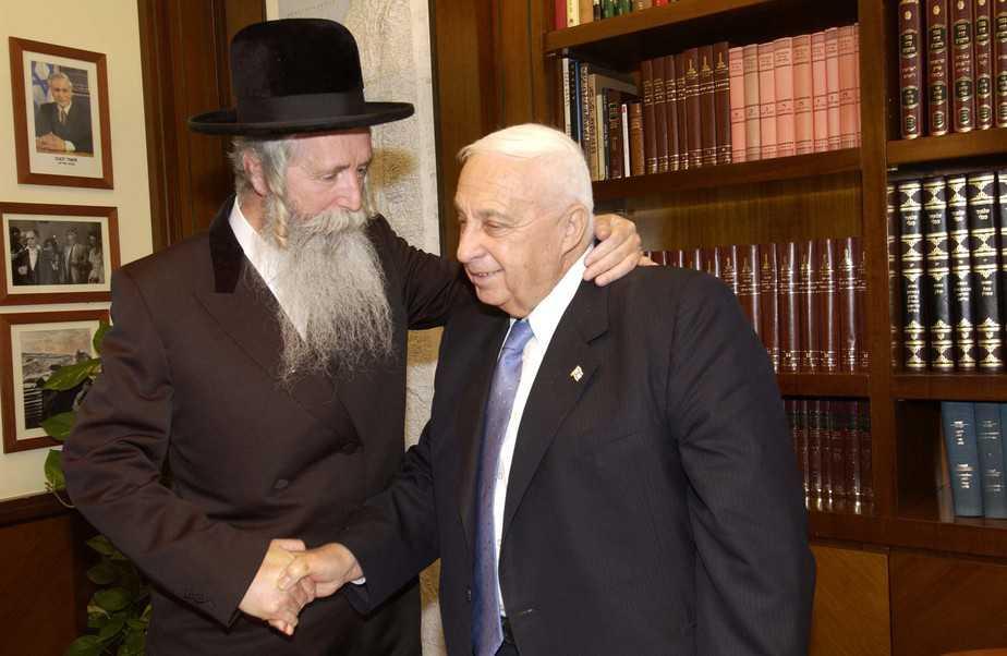 גרוסמן ואריאל שרון