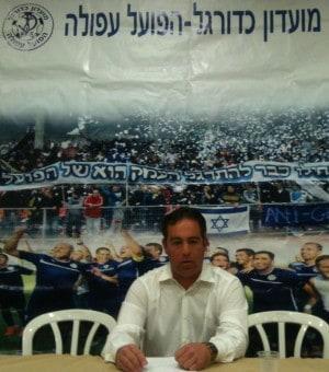 ירון הוכנבוים במסיבת העיתונאים