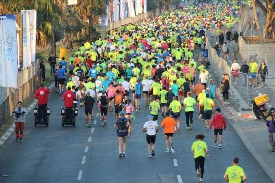 """מרתון תל אביב (צילום: דוברת מד""""א)"""