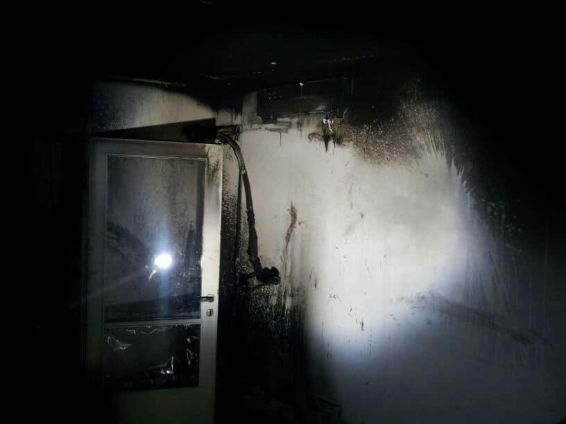 שריפה בדירה בנווה שאנן
