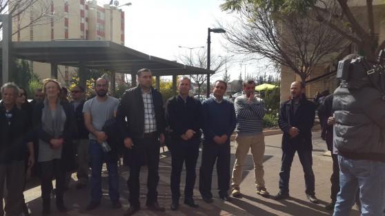 נציגי המגזר הערבי למען תושבי שכונת ראמייה