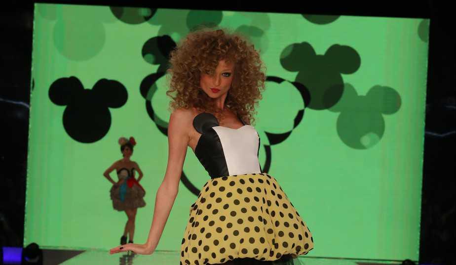 יוליה פלוטקין לאייס קיוב בתצוגת מיני מאוס בשבוע האופנה צלם אבי ולדמן (2)