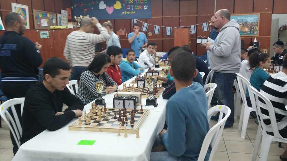 ליגת שחמט בעכו