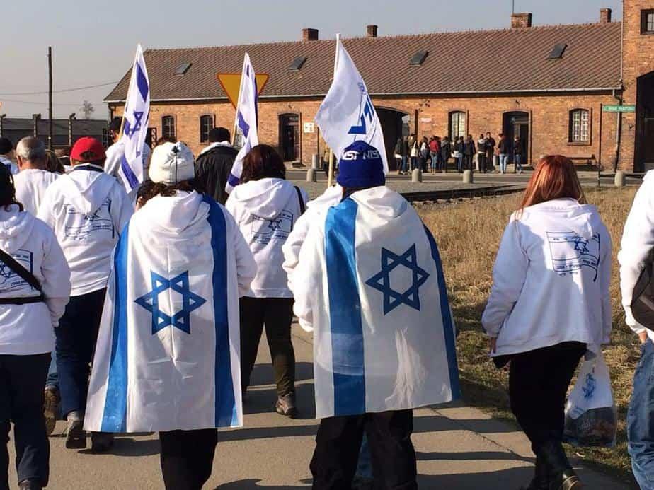 המסע לפולין של תלמידי אורט ביאליק