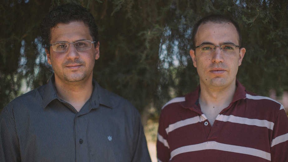 הצעירים נדחקים לשוליים. אסף רובין ואמיר ויינשטוק צילום: אדם אדלשטיין