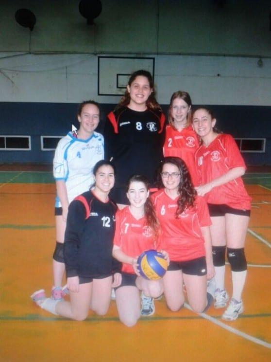 קבוצת הנוער-בנות של מטה אשר/עכו  בכדורעף