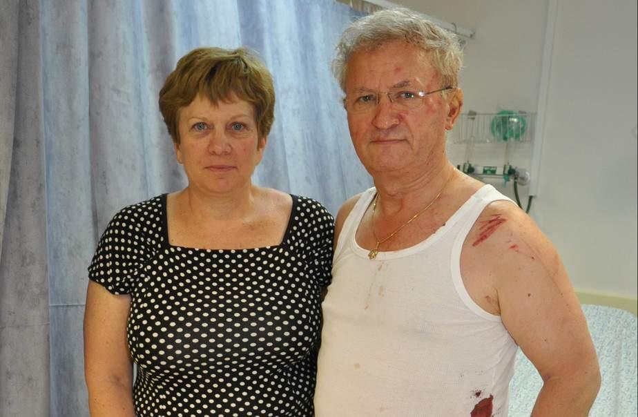 שמעון ושרה ברק (צילום: המרכז הרפואי העמק)