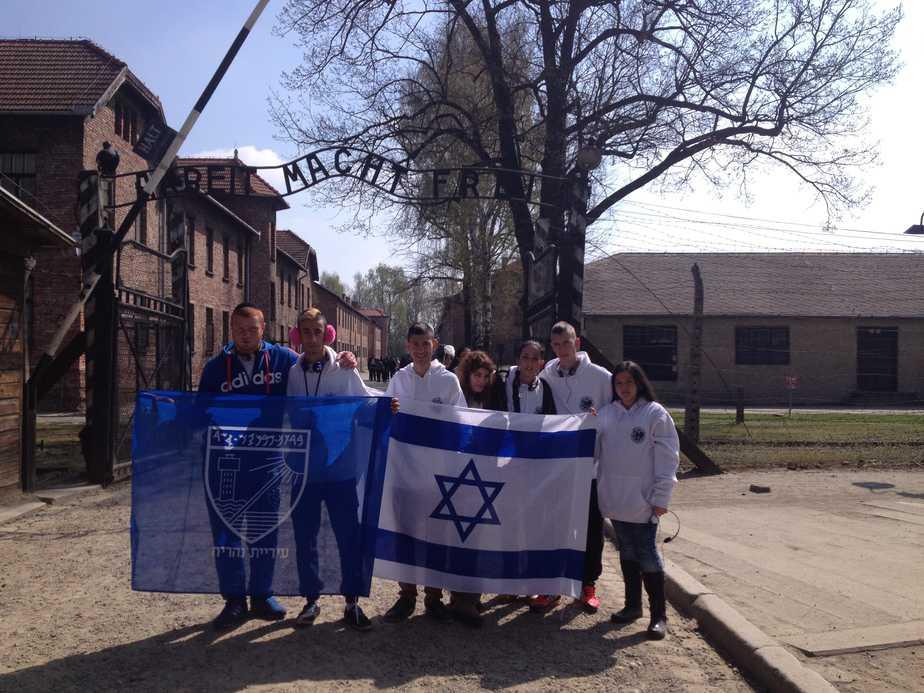 היחידה לקידום נוער במסע לפולין