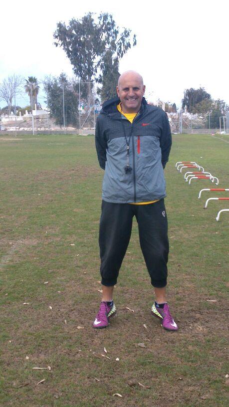 המושיע של אחי עכו. המאמן קיסר חדאד (צילום: עצמי)