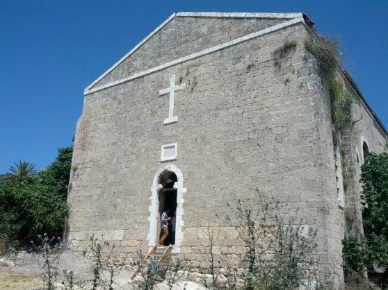 הכנסייה  היוונית האורתודוקסית בשלומי