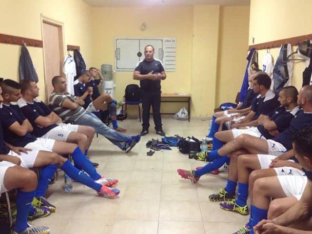 תדרוך אחרון של המאמן גרי בן חמו לקראת המשחק האחרון נגד דליה אל כרמל