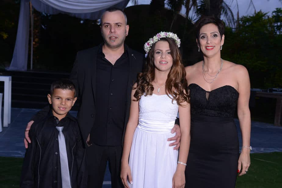 משפחת אסולין.(צילום: סטודיו מבטים)