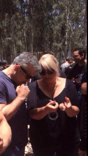עופרה פינקשלטיין ושר האוצר יאיר לפיד (צילום: עצמי)