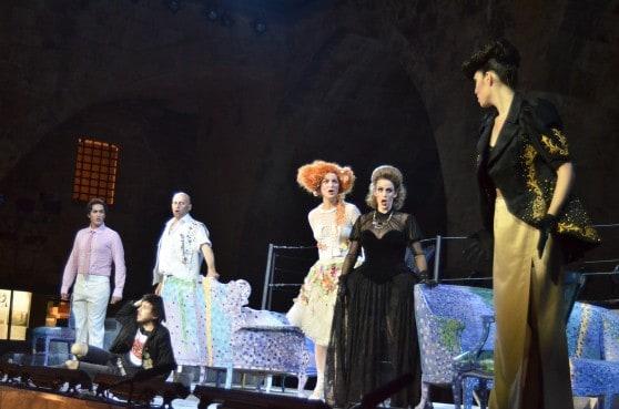 האופרה הישראלית על חומות עכו העתיקה צילומים: אושרי כהן