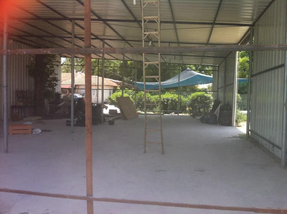 בית הימורים במושב תנובות (צילום: מנהל מקרקעי ישראל)