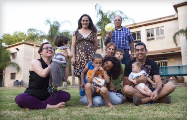 משפחות מהדרום בעפולה
