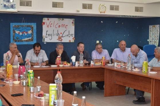 מפגש פיוס בקרב ראשי רשויות בגליל המערבי (צילום: אושרי כהן)