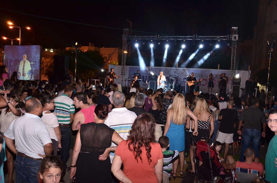 אירוע קיץ בעכו בשנה שעברה (צילום: עיריית עכו)