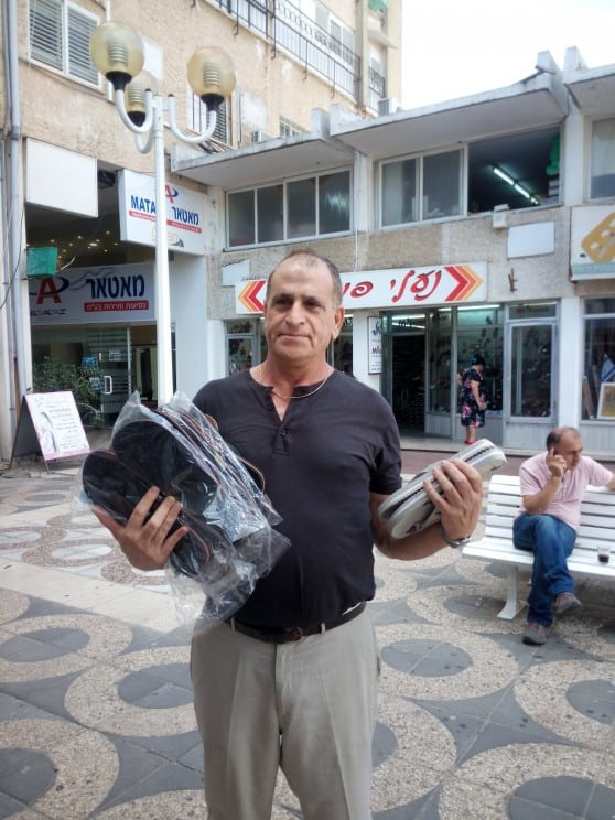 ינקל'ה מנעלי פופולר (צילום: עצמי)
