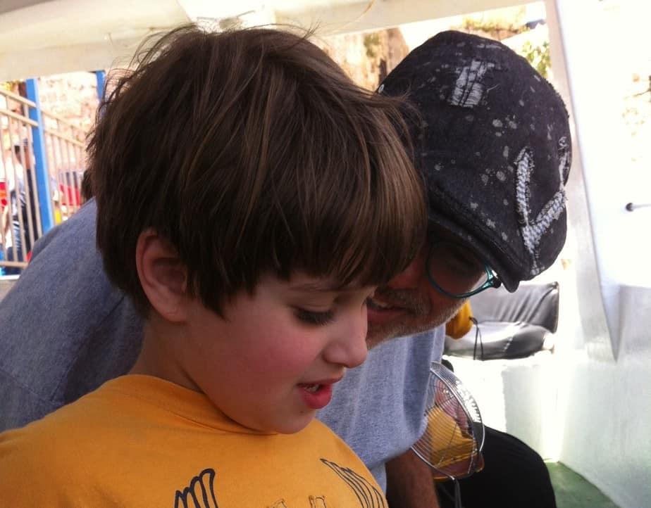 אוריאל ודני פוקס (צילום פרטי)
