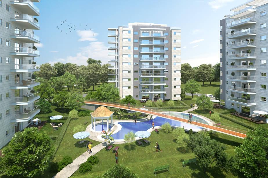 פרויקט עדן ברובע יזרעאל, קרדיט - ארקריאייטיב