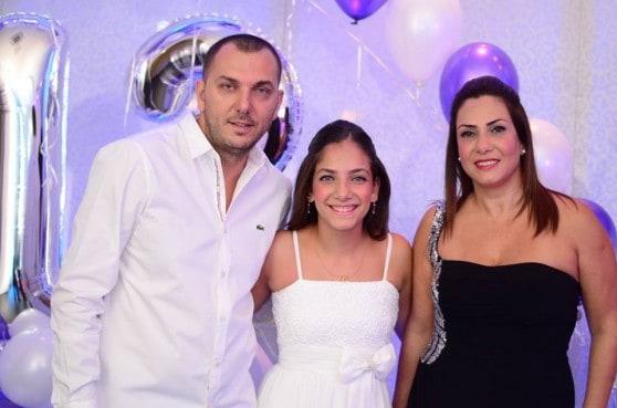 משפחת כהן וילדת הבת מצווש' אלמוג