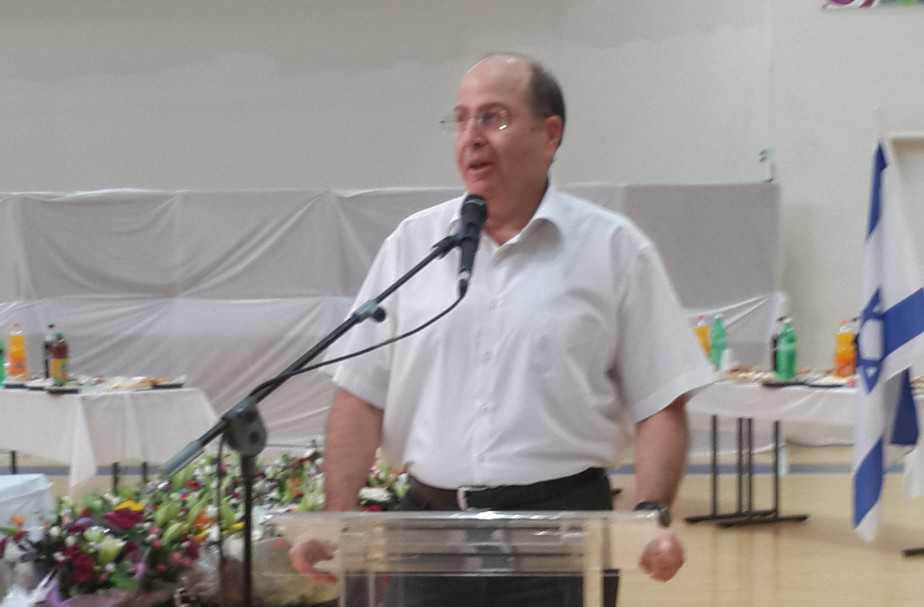שר הביטחון משה (בוגי) יעלון (ציולם פרטי)
