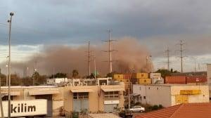 שריפת פסולת בחוף שמן (צילום: כיבוי אש מחוז חוף)