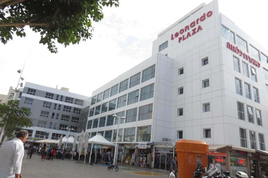 לאונרדו פלזה והמשרדים ששופצו (צילום: רותי ברמן)
