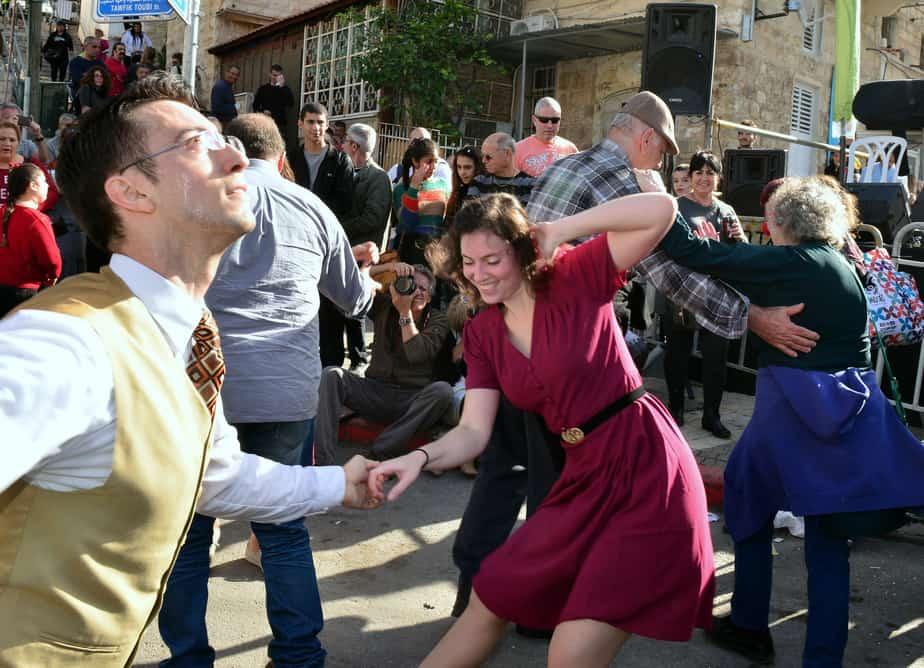 הריקודים. החג של החגים. צילום: צבי רוגר