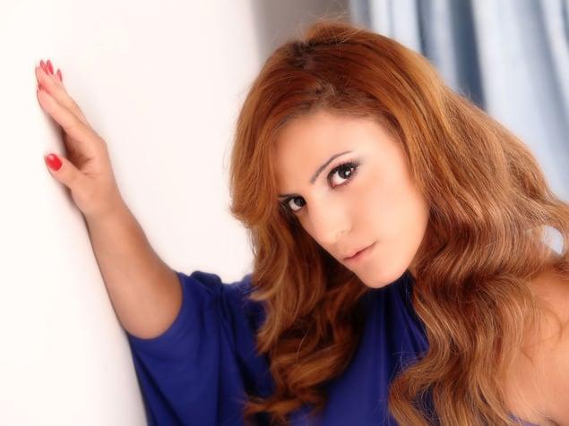 נותנת כבוד לתרבות המצרית. נסרין קדרי . צילום: אלוני מור