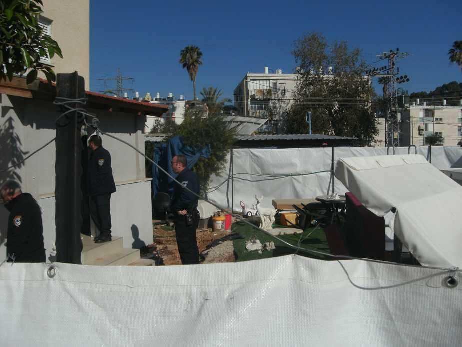 הדירה לאחר ההריסה צילום: נירית שפאץ