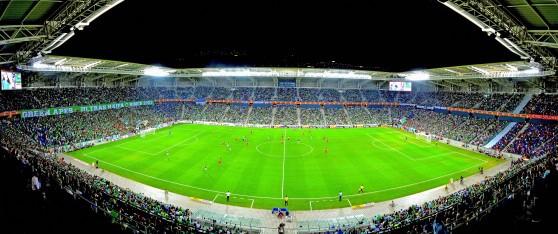 המשחקים האירופאיים בחיפה, סיבה להשוויץ באצטדיון סמי עופר (צילום: צבי רוגר)