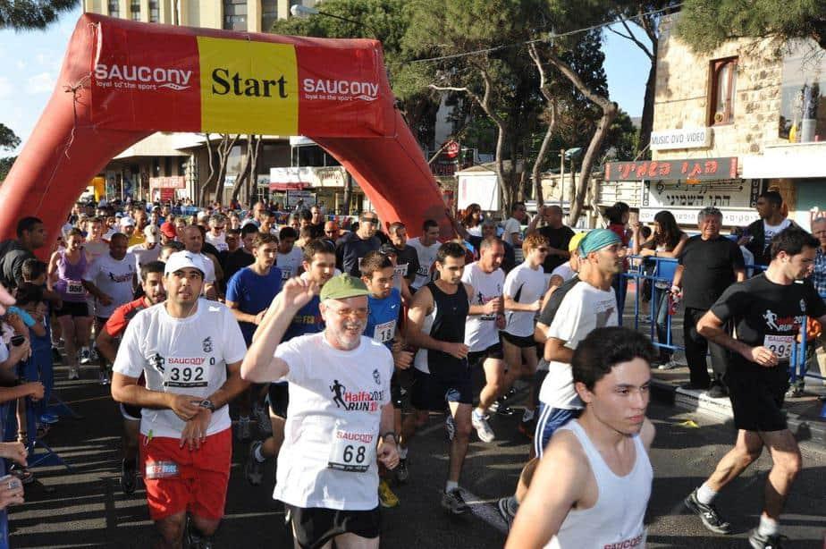 מירוץ סאוקני בחיפה (צילום: צבי רוגר)