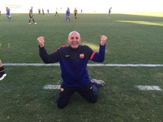 המאמן קיסר חדאד  (צילום: עבדאללה הינדאווי)