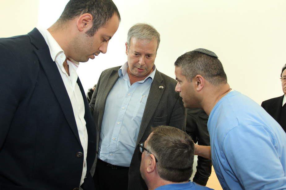 שמעון גפסו בבית המשפט (צילום: אדריאן הרבשטיין)
