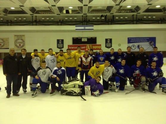 נבחרת הוקי קרח של נצרת עילית (צילום: עצמי)