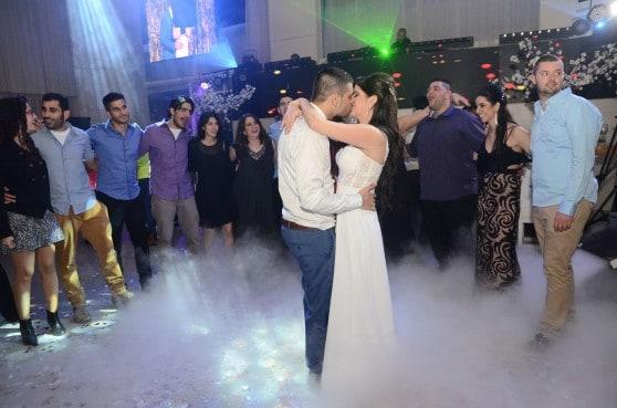 ריקוד רומנטי. הילי ושי חתן כלה (צילום: עידן רביב)