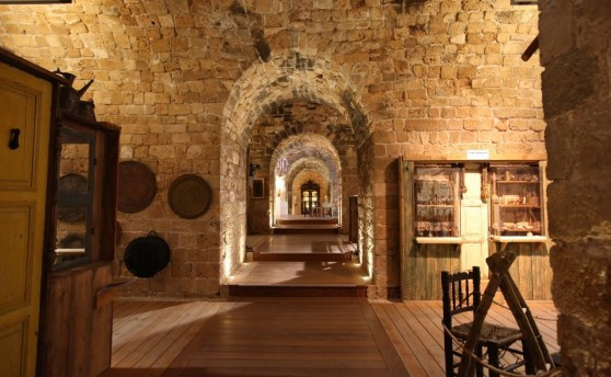 מוזיאון אוצרות בחומה (צילום: סיון פרג)
