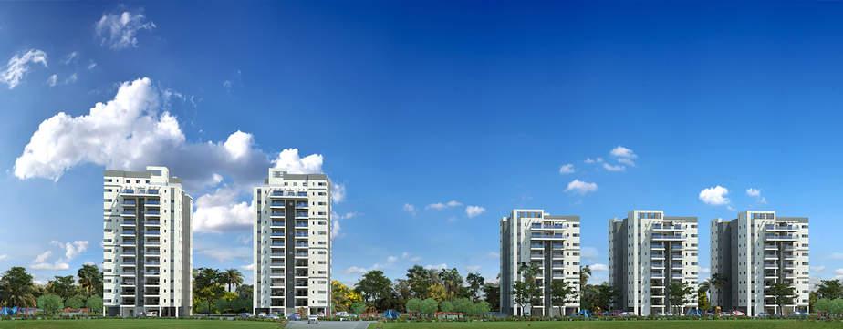 הדמית השכונה החדשה בבית אליעזר, חדרה (באדיבות עיריית חדרה)