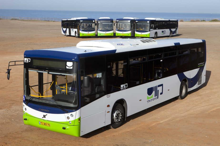 יש תחבורה ציבורית בחוף הכרמל. קווי האוטובוס החדשים (צילום : רונן טופלברג)