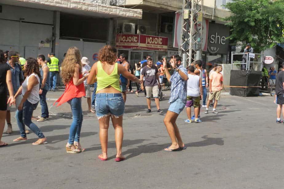 רחוב שטמפר בנתניה (צילום: רותי ברמן )