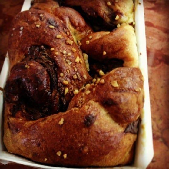 עוגת שמרים עם רוזמרי תפוז  (צילום: ממלכת האופים)