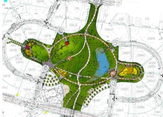 תוכנית אקו פארק (הדמיה באדיבות עיריית חדרה)