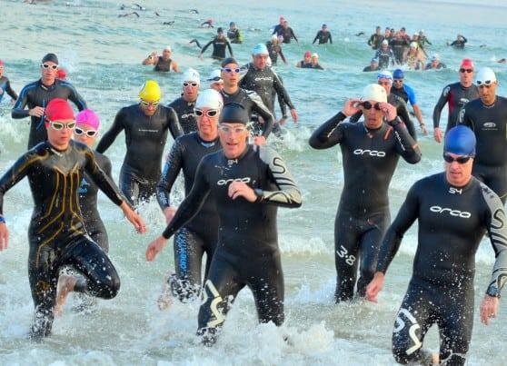 תחרות קשה. טריאתלון 2015  (צילום: צבי רוגר)